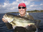 Bass caught while fishing with Pro Guide Lance Vick