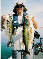 Bob caught these nice bass fishing with Pro Guide Lance Vick
