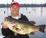 Lake Fork Pro Guide Tom Redington with a 10 lb 4 oz beauty caught March 10th.