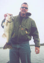 Trophy bass fishing with Pro Guide Tony Clark