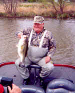 Dale caught this nice Lake Fork bass fishing with Pro Guide Rick Collis.