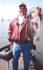 Pro Guide Danny Holder of J&J Guide Servive with a 11.9 lb Lake Fork Bass