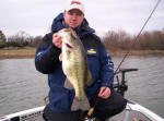 Chris Eubanks from FLW Magazine with a nice 6 pounder