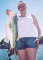 Fishing with Pro Guide Jimmy Everett, Picture courtesy of Axton's Bass City