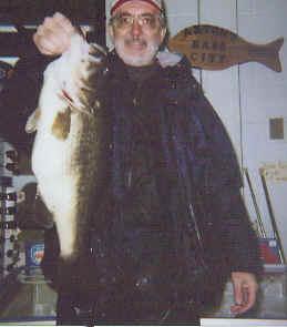 John Fawcett with a 10.13 lake fork bass