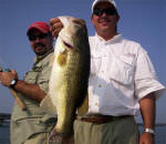 Mike Casanova with a Hog he caught fishing with Pro Guide John Tanner on 8/3.