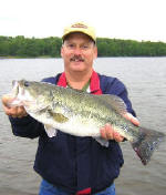 Fishing with Lake Fork Pro Guide Marc Mitchell
