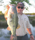 Lake Fork trophy bass fishing with Marc Mitchell