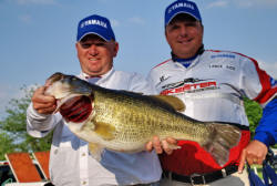 Share Lunker  Lance Vick and Dale Washington