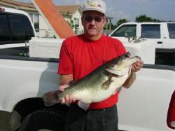 Danny McBride of Hatchett, Arkansas, caught this 13.16-pound largemouth on Friday, October 29, 2004, while fishing on Lake Fork.
