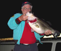 15.65 lb. Largemouth Bass caught at 5:00 PM Friday, March 22th at Lake Fork.