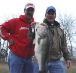 Fishing withPro Guide John Tanner, Jerry Shinn from Austin TX caught this 7.02 bass. It was a good day with 20 fish total!
