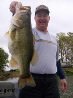 A 9 1/2 pound fish caught with Pro Guide John Tanner