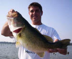 Steve Taylor from Shreveport. He caught this pig while fishing with Pro Guide John Tanner on 9/3.