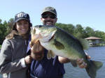 Bass fishing with Wendell Moon